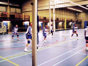 Volleybal in Sporthal Wasbeek Sassenheim